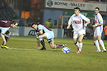 Drog's John Lester (6) as Drogheda Utd V UCD in the Airtricity League. (result UCD 1 Drogheda Utd 0)..(Photo credit should read Jenny Matthews/www.newsfile.ie)....This Picture has been sent you under the conditions enclosed by:.Newsfile Ltd..The Studio,.Millmount Abbey,.Drogheda,.Co Meath..Ireland..Tel: +353(0)41-9871240.Fax: +353(0)41-9871260.GSM: +353(0)86-2500958.email: pictures@newsfile.ie.www.newsfile.ie.