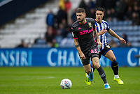 Leeds United's Mateusz Klich (left) cbreaks away from Sheffield Wednesday's Joey Pelupessy <br /> <br /> Photographer Andrew Kearns/CameraSport<br /> <br /> The EFL Sky Bet Championship - Sheffield Wednesday v Leeds United - Saturday 26th October 2019 - Hillsborough - Sheffield<br /> <br /> World Copyright © 2019 CameraSport. All rights reserved. 43 Linden Ave. Countesthorpe. Leicester. England. LE8 5PG - Tel: +44 (0) 116 277 4147 - admin@camerasport.com - www.camerasport.com