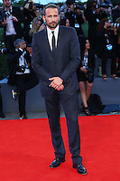 Matthias Schoenaerts attends the red carpet for the premiere of the movie 'A Bigger Splash' during the 72nd Venice Film Festival at the Palazzo Del Cinema in Venice, Italy, September 6, 2015. <br /> UPDATE IMAGES PRESS/Stephen Richie