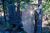 Bathroom, Shasta View Treehouse, Mt. Shasta, California, US