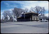 La Jara station.<br /> D&amp;RGW  La Jara, CO