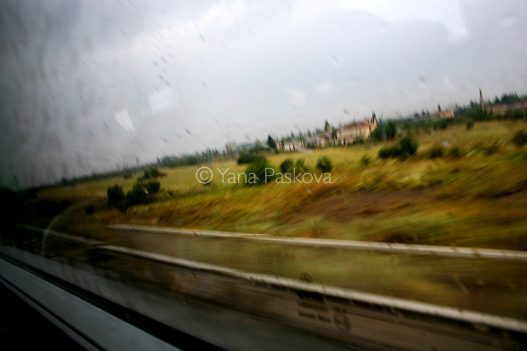 Traveling through Bulgaria in August 2008.