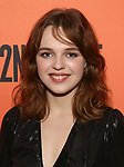 """Odessa Young attends the After Party for the Second Stage Production of """"Days Of Rage"""" at Churrascaria Platforma on October 30, 2018 in New York City."""