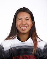 STANFORD, CA - August 16, 2019: Hannah Santos on Field Hockey Photo Day.