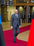 Brussels, Belgium -- November 24, 2017 -- Eastern Partnership Summit, meeting of Heads of State / Government (EU and six Eastern partner countries) at the Europa building - seat of the European Council and Council of the European Union; here, Charles MICHEL, Prime Minister of Belgium -- Photo: © HorstWagner.eu