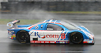 The #8 BMW Doran of Burt Frisselle and Brian Frisselle races through the rain at the 6 Heueres du Circuit Mont-Tremblant in Mont-Tremblant, Qubec, Canada, on Saturday, May 21, 2005. (Photo by Brian Cleary/www.bcpix.com)