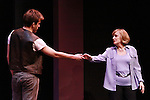 """Sebastiani Romagno & Annie McGreevey perform at """"Union Women at Work: Inspiration In Motion"""" on March 5, 2012 at Theatre at Saint Peter's Church - Home of The York Theatre, New York City, New York which was """"sponsored by Actors' Equity Associations Eastern EEO Committee.  The event was an Equity event in celebration of Womens History Month.  (Photo by Sue Coflin/Max Photos) (Photo by Sue Coflin/Max Photos)"""