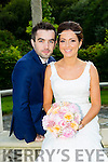 Sarah Lynch, Lixnaw, daughter of Thomas and Helen Lynch, and Diarmaid Cox, Roscommon, son pf Dermot and Anne Cox, were married at St. Michaels Church, Lixnaw, by Fr. Brian Conlon on Friday 17th July 2015 with a reception at Ballyseede Castle Hotel