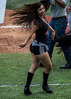 Edecan, Edecanes o Chicas Tecate. <br /> .<br /> Partido de beisbol de la Serie del Caribe con el encuentro entre Caribes de Anzo&aacute;tegui de Venezuela  contra los Criollos de Caguas de Puerto Rico en estadio Panamericano en Guadalajara, M&eacute;xico,  s&aacute;bado 5 feb 2018. <br /> (Foto: Luis Gutierrez)<br /> <br /> Baseball game of the Caribbean Series with the match between Caribes de Anzo&aacute;tegui of Venezuela against the Criollos de Caguas of Puerto Rico, at the Pan American Stadium in Guadalajara, Mexico, Saturday, February 5, 2018.<br /> (Photo: Luis Gutierrez)