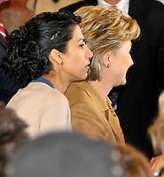 Huma Abedin & Hillary Clinton 2008 Campaign By Jonathan Green