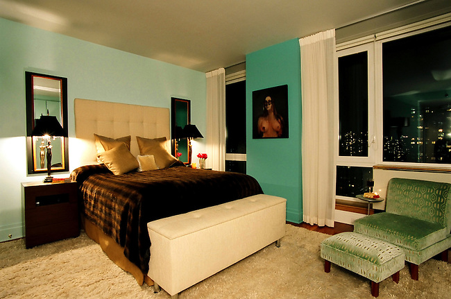Bedroom, Residence, New York City.