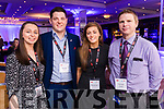 Pictured at IT Tralee Cantillon 2017 at the Rose Hotel, Tralee on Thursday, March 30th, were l-r: Laura Geaney (University College Cork), Shane Buckley (University College Cork), Eleanor Stritch (University College Cork) and Damien Ginty (Kerry County Council).