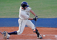 Florida International University infielder/outfielder David Vazquez (4) plays against the University of North Florida. FIU won the game 6-4 on March 13, 2012 at Miami, Florida.