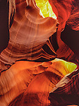 Antelope Canyon, Page, Arizona. .  John offers private photo tours in Arizona and and Colorado. Year-round.