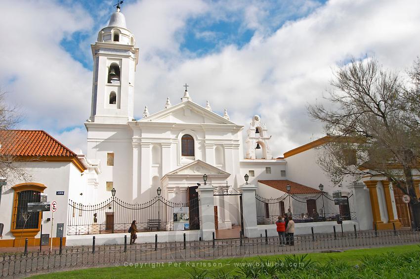 Basilica de Nuestra Senora del Pilar church in the Recoleta district. Buenos Aires Argentina, South America