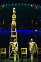 London, UK. 04.01.2014. Cirque du Soleil bring KOOZA to the Royal Albert Hall for their annual visit.