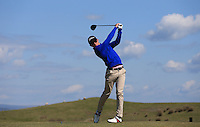 George Bloor during Round Two of the West of England Championship 2016, at Royal North Devon Golf Club, Westward Ho!, Devon  23/04/2016. Picture: Golffile | David Lloyd<br /> <br /> All photos usage must carry mandatory copyright credit (&copy; Golffile | David Lloyd)