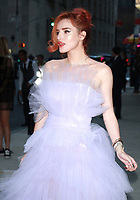 NEW YORK, NY - SEPTEMBER 8: Bella Thorne arriving to the Daily Front Row Fashion Awards at Four Seasons NY Downtown in New York City on September 8,  2017. <br /> CAP/MPI/RW<br /> &copy;RW/MPI/Capital Pictures