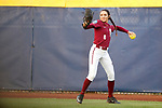 OKLAHOMA CITY, OK - JUNE 04: Korina Rosario #8 of the Florida State Seminoles makes a throw from right field against the Washington Huskies during the Division I Women's Softball Championship held at USA Softball Hall of Fame Stadium - OGE Energy Field on June 4, 2018 in Oklahoma City, Oklahoma. (Photo by Shane Bevel/NCAA Photos via Getty Images)