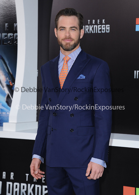 """Chris Pine at Paramount Pictures' Premiere of  """"Star Trek Into Darkness"""" held at The Dolby Theater in Hollywood, California on May 14,2013                                                                   Copyright 2013 Hollywood Press Agency"""