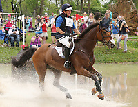 LEXINGTON, KY - April 29, 2017. #36 Fernhill Fugitive and Phillip Dutton from the USA finish in 8th place after competing in the Cross Country test at the Rolex Three Day Event at the Kentucky Horse Park.  Lexington, Kentucky. (Photo by Candice Chavez/Eclipse Sportswire/Getty Images)