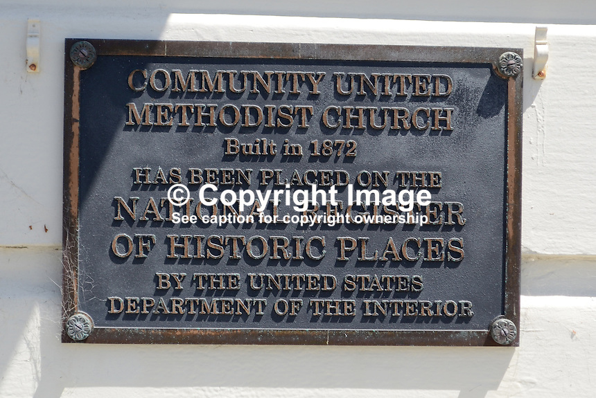 Community United Methodist Church, Half Moon Bay, California, USA, built, 1872, National Register of Historic Places, US Department of the Interior, 201305012296<br /> <br /> Copyright Image from Victor Patterson, 54 Dorchester Park, Belfast, UK, BT9 6RJ<br /> <br /> Tel: +44 28 9066 1296<br /> Mob: +44 7802 353836<br /> Voicemail +44 20 8816 7153<br /> Skype: victorpattersonbelfast<br /> Email: victorpatterson@me.com<br /> Email: victorpatterson@ireland.com (back-up)<br /> <br /> IMPORTANT: If you wish to use this image or any other of my images please go to www.victorpatterson.com and click on the Terms &amp; Conditions. Then contact me by email or phone with the reference number(s) of the image(s) concerned.