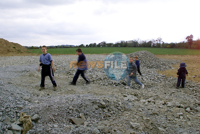 The Site in Whitewater, Dunleer were a halting site is being built..Picture: Arthur Carron/Newsfile