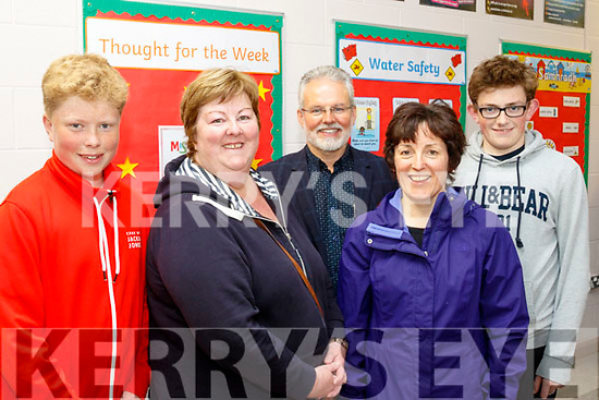 Be Mindful<br /> --------------<br /> Attending the St Pat's GAA club, Blennerville, organised Mental Health Awareness night in the local National school last Monday in  congunction with Jigsaw Kerry and the the Kerry County Board were L-R Jack&amp;Ann Walsh, Con Cremin, guest speaker on substance abuse, Mary Devane and Padraig Creen.