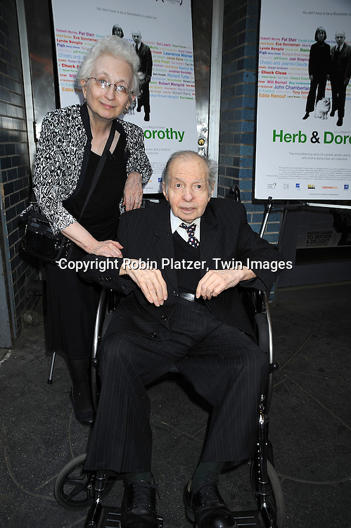 Dorothy and Herb Vogel