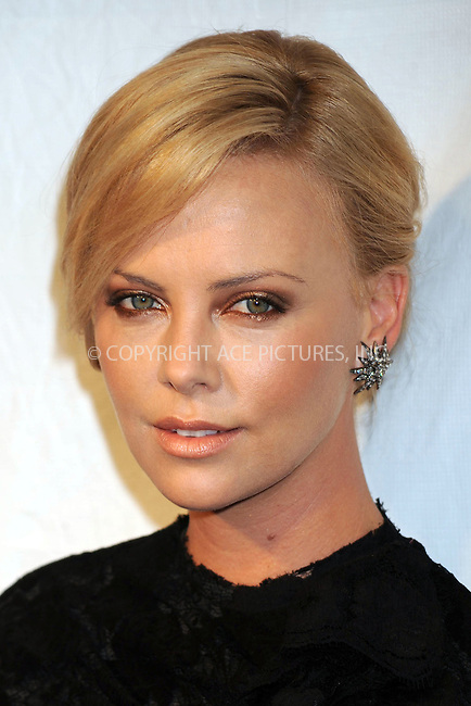 WWW.ACEPIXS.COM . . . . . ....April 27 2009, New York City....Actress Charlize Theron arriving at the 36th Film Society of Lincoln Center's Gala Tribute honouring Tom Hanks at Alice Tully Hall on April 27, 2009 in New York City.....Please byline: KRISTIN CALLAHAN - ACEPIXS.COM.. . . . . . ..Ace Pictures, Inc:  ..tel: (212) 243 8787 or (646) 769 0430..e-mail: info@acepixs.com..web: http://www.acepixs.com