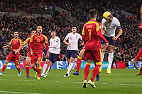 Harry Kane of England scores his second goal to make it 3-0 during the UEFA Euro 2020 Qualifying Group A match between England and Montenegro at Wembley Stadium on November 14th 2019 in London, England. (Photo by Matt Bradshaw/phcimages.com)<br /> Foto PHC Images / Insidefoto <br /> ITALY ONLY