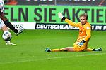 06.10.2019, Commerzbankarena, Frankfurt, GER, 1. FBL, Eintracht Frankfurt vs. SV Werder Bremen, <br /> <br /> DFL REGULATIONS PROHIBIT ANY USE OF PHOTOGRAPHS AS IMAGE SEQUENCES AND/OR QUASI-VIDEO.<br /> <br /> im Bild: Frederik Rönnow / Roennow (Eintracht Frankfurt #32)<br /> <br /> Foto © nordphoto / Fabisch