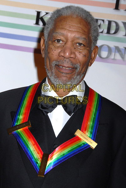 MORGAN FREEMAN .31st Kennedy Center Honors celebrating lifetime achievement in the performing arts held at the Kennedy Center for the Performing Arts,  Washington, D.C. 7th December 2008..portrait headshot medal bow tie beard facial hair .CAP/ADM/GB.©Gary Boas/Admedia/Capital Pictures