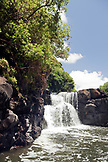 MAURITIUS, a boat tours through the Ilet Mangenie and up the Rhone River to Southeast Falls