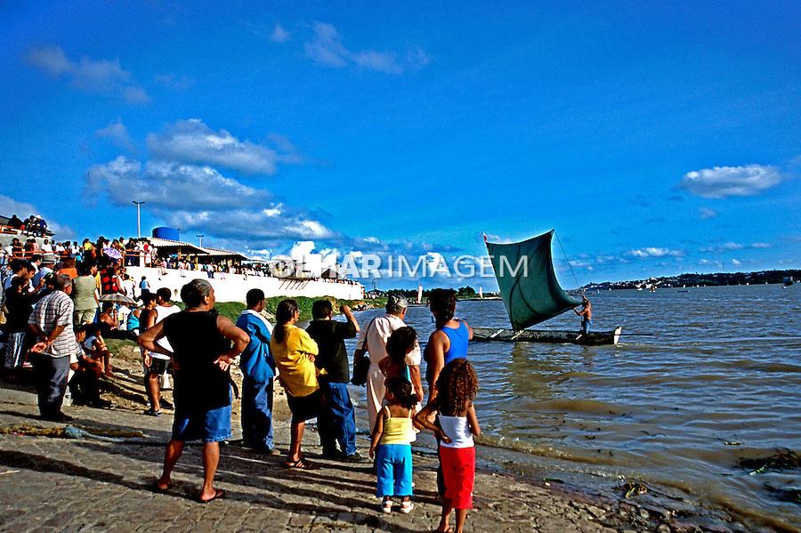 Procissão do Bom Jesus dos Navegantes em Penedo, Alagoas. 2002. Foto de Thais Falcão.