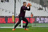 Joe Hart of West Ham during West Ham United vs Burnley, Premier League Football at The London Stadium on 10th March 2018