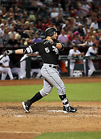 Yolmer Sanchez (aka Carlos Sanchez) - 2017 Chicago White Sox (Bill Mitchell)