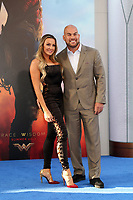 """LOS ANGELES - MAY 25:  Amber Nichole Miller, Tito Ortiz at the """"Wonder Woman"""" Los Angeles Premiere at the Pantages Theater on May 25, 2017 in Los Angeles, CA"""