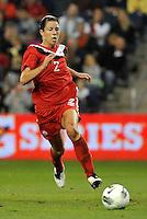 Canada defender Emily Zurrer (2) in action.