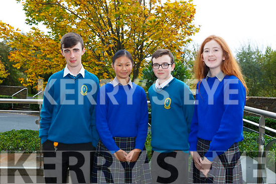 At the Kerry Comhairle Na nOg Agm in the Rose Hotel on Friday were Sean Hennessy, Mercy Mounthawk, Anna O'Connor, Presentation Milltown, Emmett Christie, Mercy Mounthawk, Abbie Gallagher, Presentation Milltown