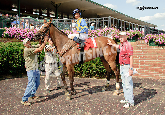 Southern Peach winning at Delaware Park on 8/9/14