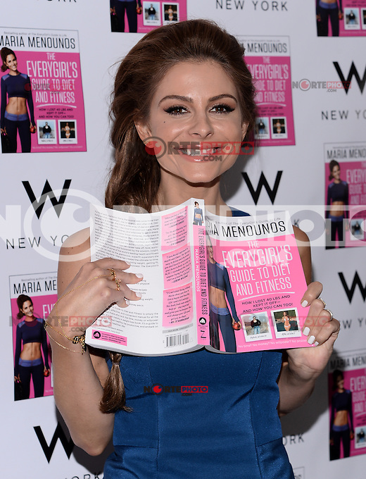 NEW YORK, NY - JUNE 3: Maria Menounos Kicks Off The Everygirls's Guide to Diet and Fitness National Book Tour at the W New York Hotel in New York City ,June 3, 2014 © HP/Starlitepics