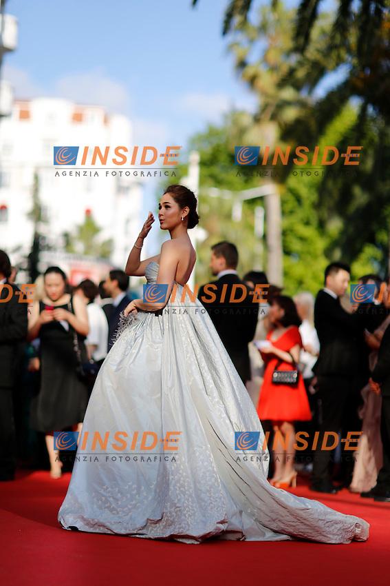 Araya Hargate <br /> Festival del Cinema di Cannes 2014<br /> Foto Panoramic / Insidefoto