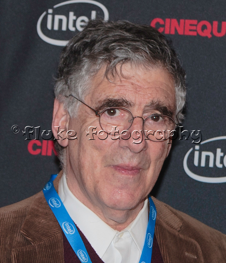 "Elliott Gould as he interviews on the ""red carpet"" prior to receiving the Maverick Award at Cinequest 2012 and the screening of his latest feature film, ""Dorfman."" See many more images of ""Dorfman"" in the Film & T.V. Gallery."