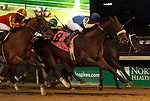 November 27, 2015 Effinex (#8, jockey Mike Smith) wins the 141st running of the G1 Clark Handicap at Churchill Downs. Owner Tri-Bone Stables (Ira and Bernice Cohen), trainer James A. Jerkins. By Mineshaft x What a Pear (E Dubai.) Hoppertunity (#6, jockey Martin Garcia) was second. ©Mary M. Meek/ESW/CSM