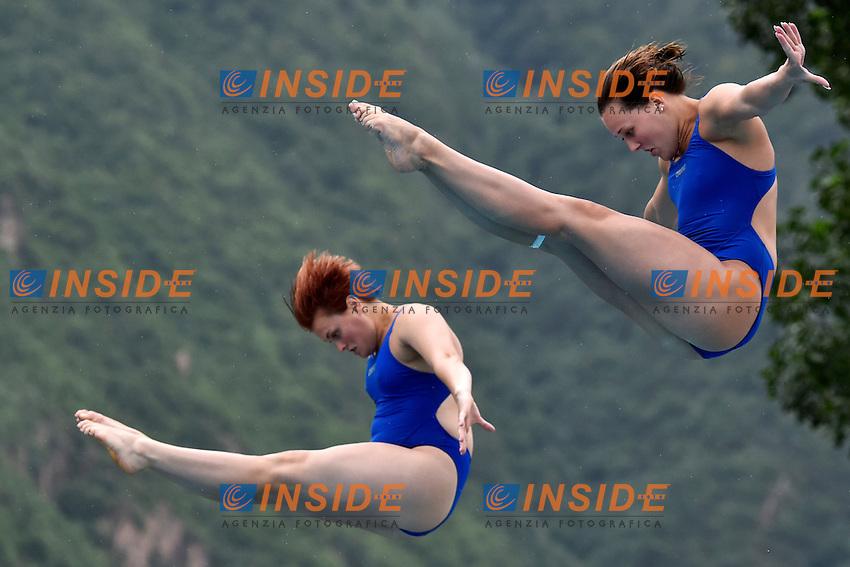 JANSEN Inge, FREITAG Uschi NED<br /> Springboard 3m Synchro Final - Trampolino 3m Sincro Finale <br /> Bolzano 01-08-2014 <br /> 20 Fina Diving Grand Prix <br /> Photo Andrea Staccioli/Insidefoto