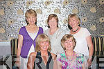 0826-0829.---------.Party Ladies.------------.Friends of Moira McCarthy(seated Rt)from the Kerries,Tralee celebrated her special birthday last Friday night in Kirby's Brogue Inn,Rock St,Tralee,enjoying the evening were also seated Stephanie O'Shea(back)L-R Delia McCarthy,Ita O'Connor and Brigid O'Shea.