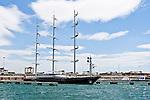 Maltese Falcon (Halcón Maltés) en el Real Club Náutico de Valencia
