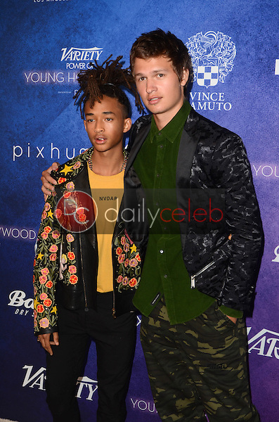 Jaden Smith, Ansel Elgort<br /> at the Variety Power of Young Hollywood Event, Neuehouse, Hollywood, CA 08-16-16<br /> David Edwards/DailyCeleb.com 818-249-4998
