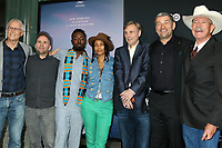 """LOS ANGELES - JUN 5:   Paul Hawken, Bren Smith, Ietef Vita, Alkemia Earth, Thom Hartmann, Martin Hermann, Don Schreiber at the """"Ice on Fire"""" HBO Premiere at the LACMA Bing Theater on June 5, 2019 in Los Angeles, CA"""